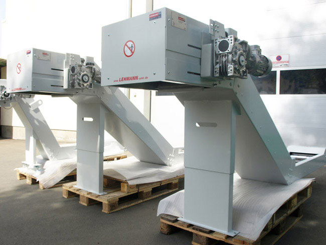 Link - Hinged belt conveyor