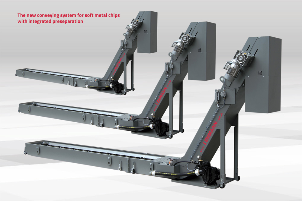 Scraper chain conveyor by Lehmann-UMT GmbH - conveyor technology